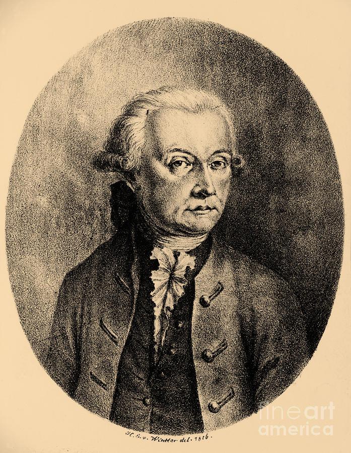 History Photograph - Wolfgang Amadeus Mozart, Austrian by Photo Researchers, Inc.