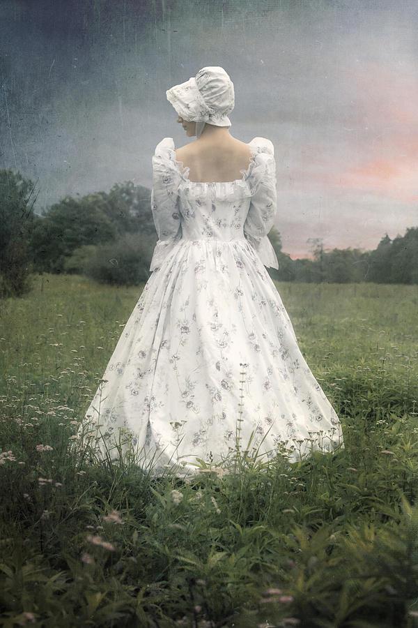 Woman Photograph - Woman With Bonnet by Joana Kruse