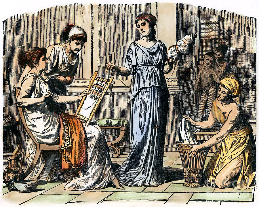 roles men and women ancient greek society Daily life women's life greek women had virtually no political rights of any kind and were controlled by men at nearly every stage of their lives.