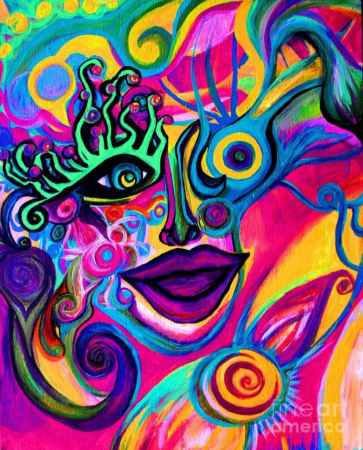 Wonkey Painting by Joy Tagliavia