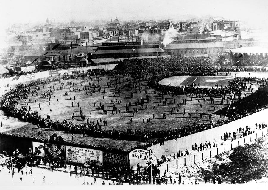 1903 Photograph - World Series, 1903 by Granger
