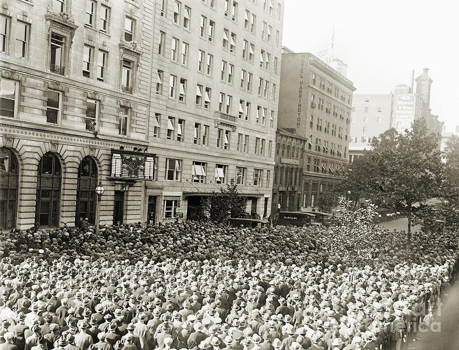 1925 Photograph - World Series, 1925 by Granger