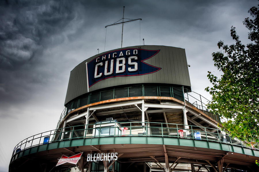 Wrigley Field Bleachers Photograph by Anthony Doudt