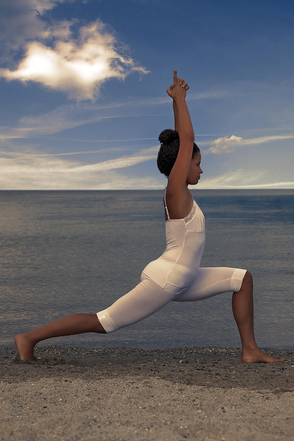 Female Photograph - Yoga by Joana Kruse