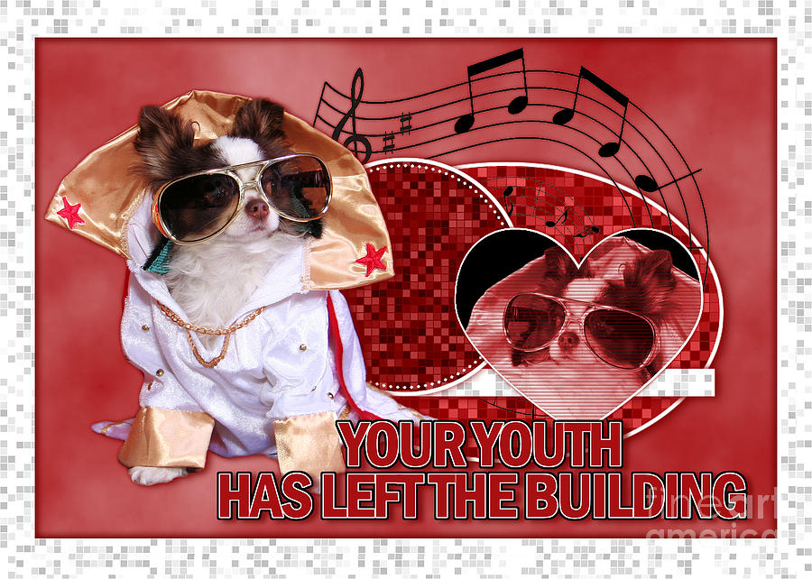 Birthday Digital Art - Your Youth Has Left The Building by Renae Laughner