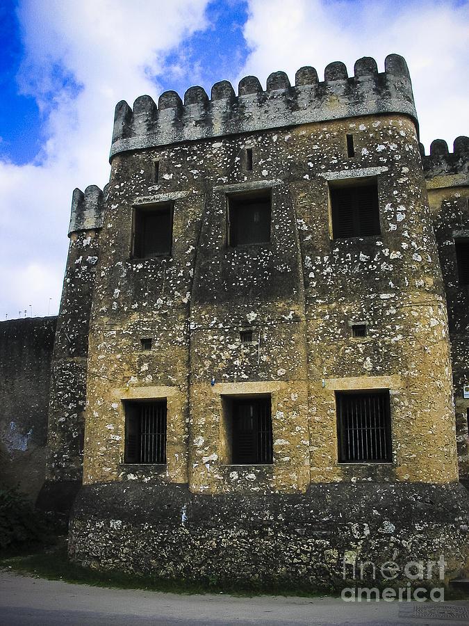 Africa Photograph - Zanzibar Old Fort by Darcy Michaelchuk