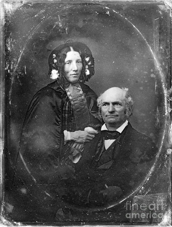 1852 Photograph - Harriet Beecher Stowe by Granger