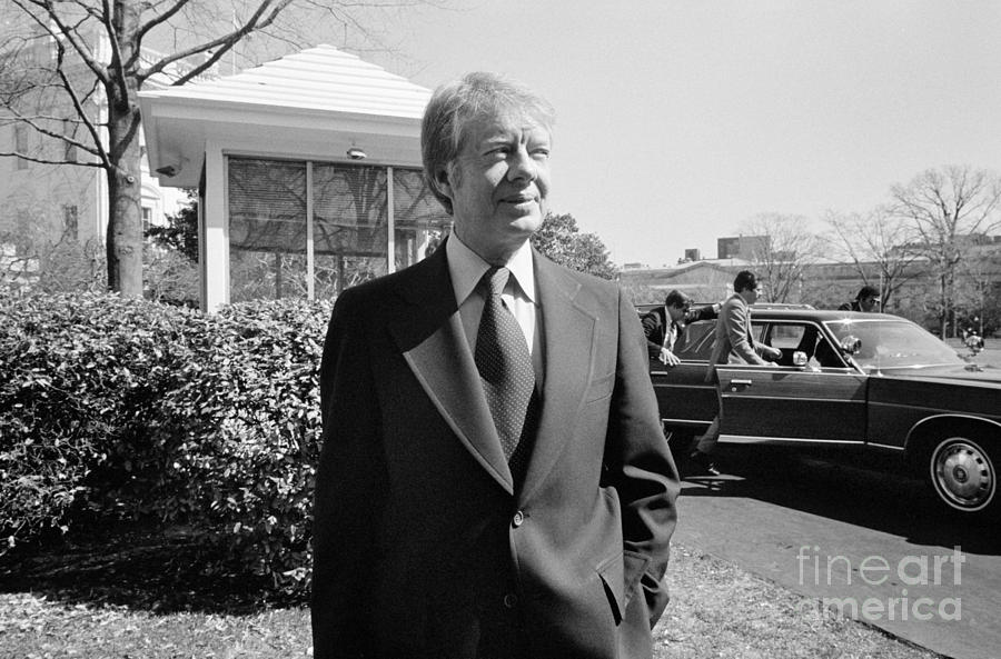 1977 Photograph - Jimmy Carter (1924- ) by Granger