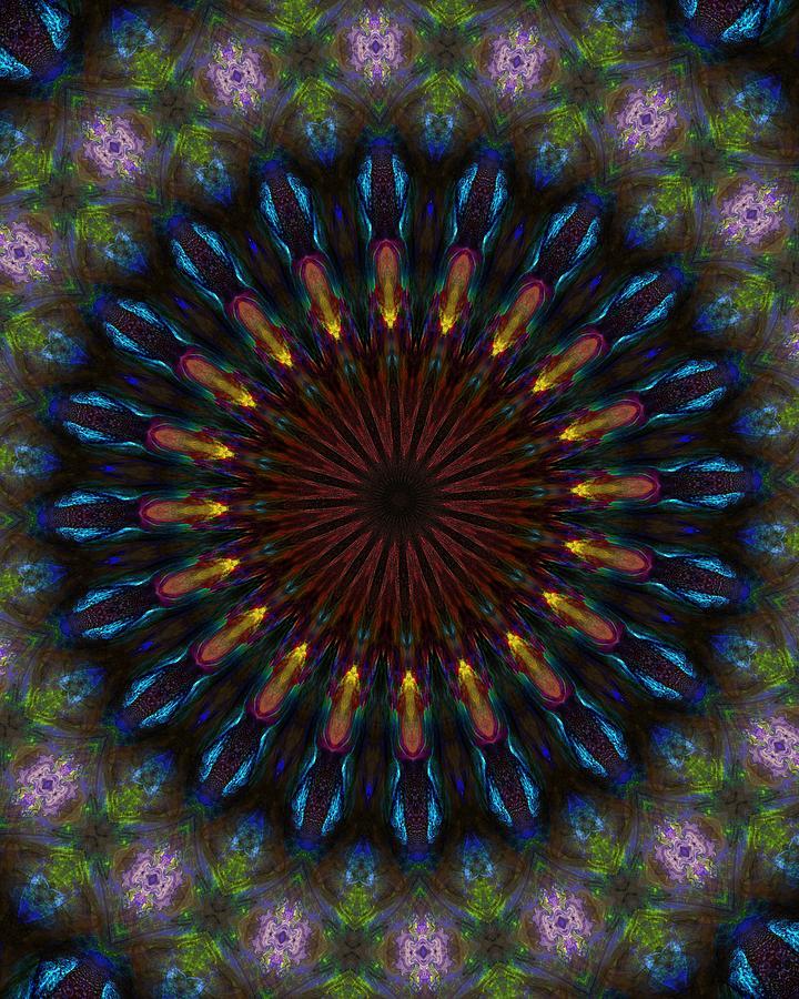 Abstract Digital Art - 10 Minute Art 120611a by David Lane