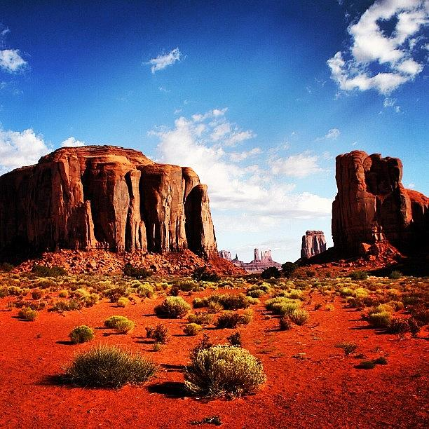 Beautiful Photograph - Monument Valley by Luisa Azzolini