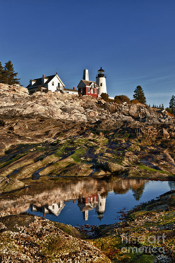 Bristol Photograph - Pemaquid Point Lighthouse by John Greim