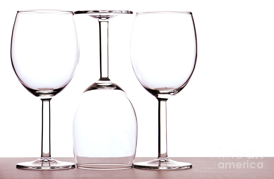 Wine Photograph - Wine Glasses by Blink Images