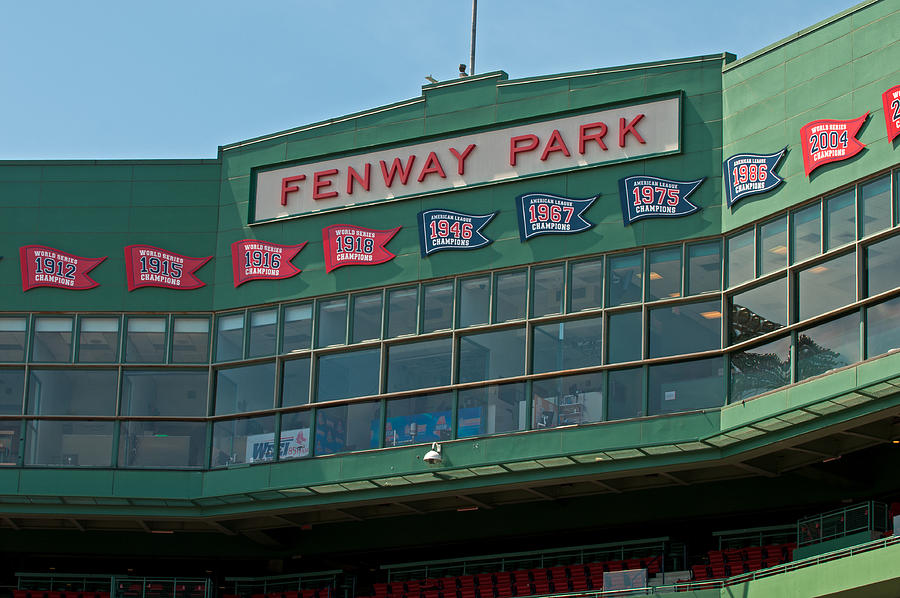 boston Red Sox  - 100 Years by Paul Mangold