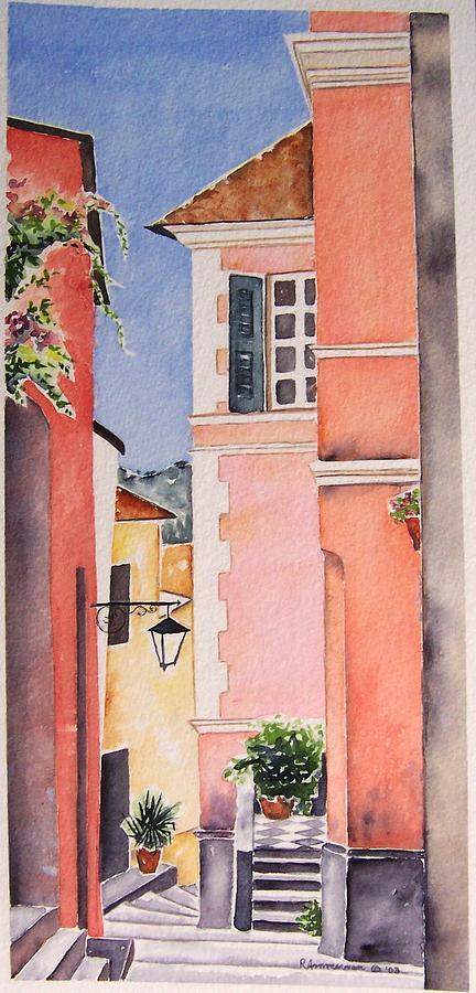 Italian Village Painting - 1000steps by Regina Ammerman