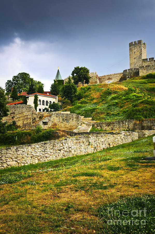 Kalemegdan Fortress In Belgrade Photograph