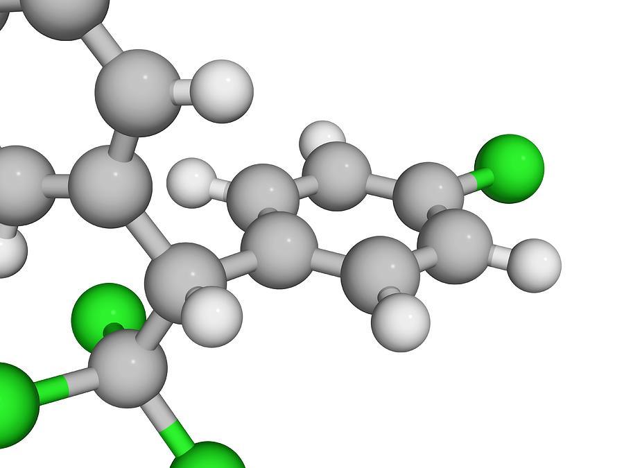 Molecular Model Digital Art by Laguna Design