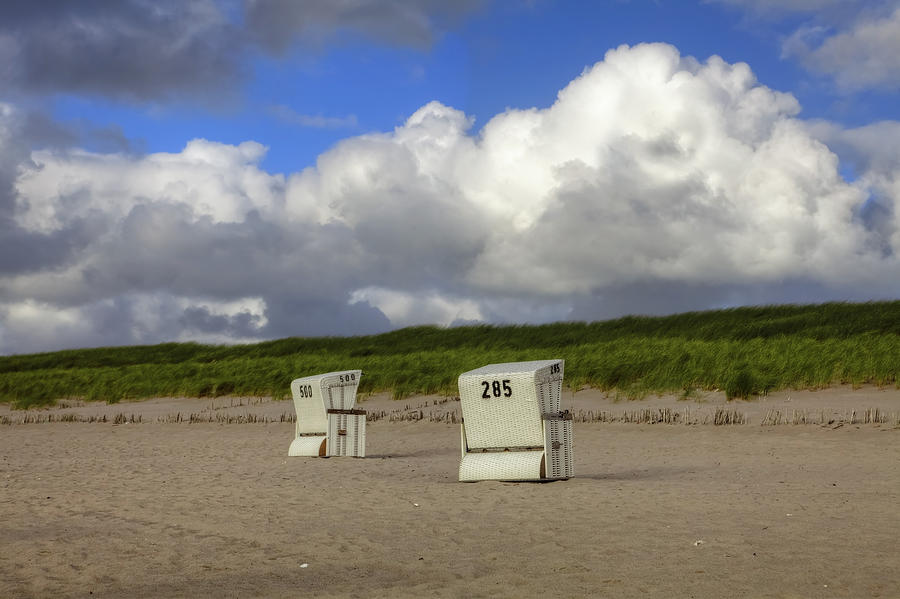 Beach Photograph - Sylt by Joana Kruse