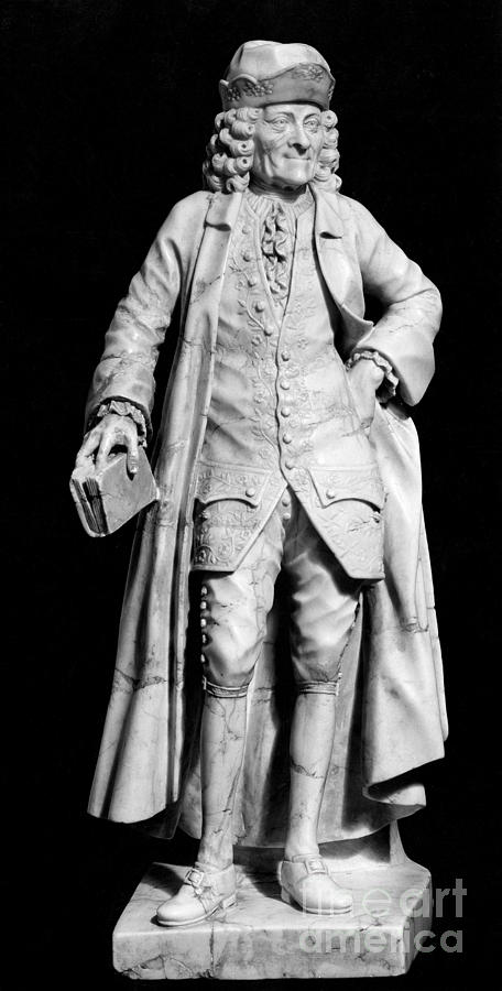 1773 Photograph - Voltaire (1694-1778) by Granger