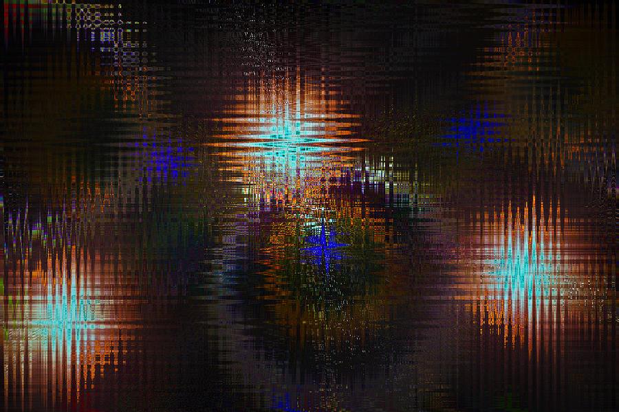 Digital Digital Art - Abstract Art by David Pyatt