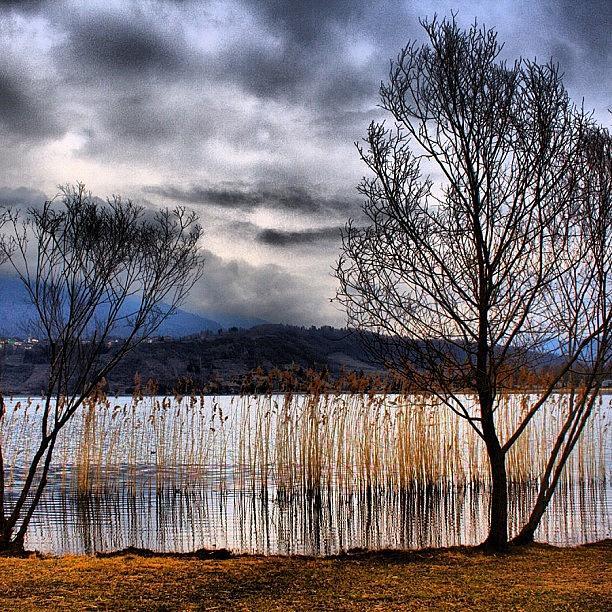 Beautiful Photograph - Clouds by Luisa Azzolini