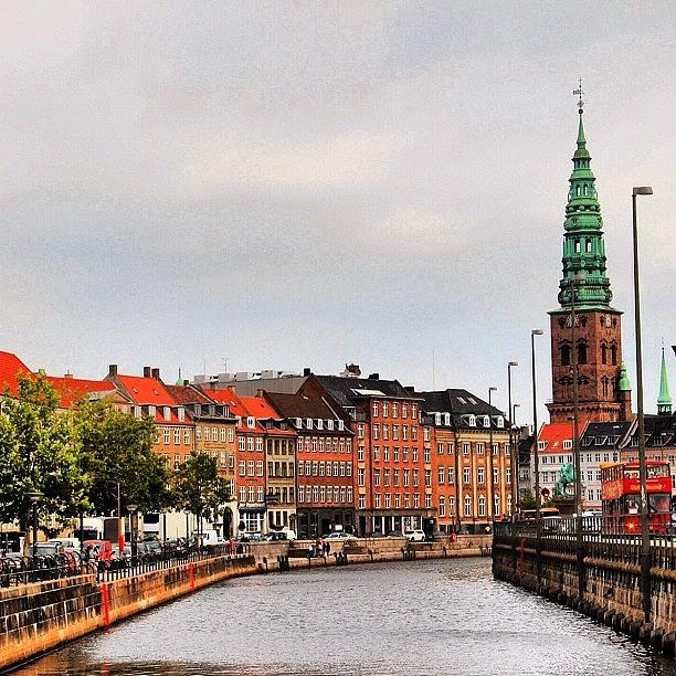 City Photograph - Copenhagen by Luisa Azzolini