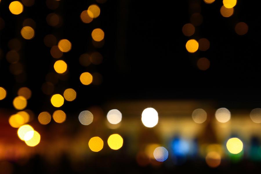Round Led Christmas Lights