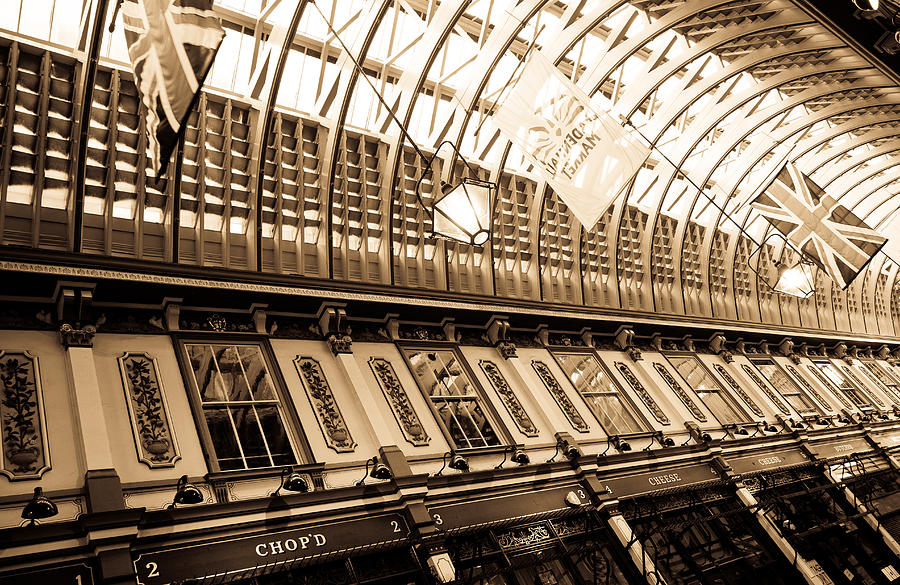 Market Photograph - Leadenhall Market London by David Pyatt