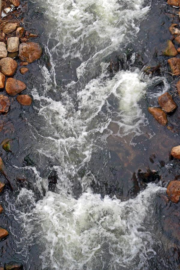 Waterfall Photograph - Thornbury Fish Lock by Cyryn Fyrcyd
