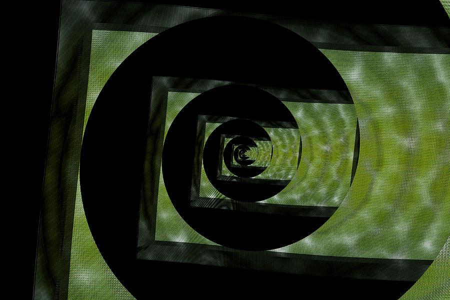 Twirling Shine Digital Art by Mihaela Stancu