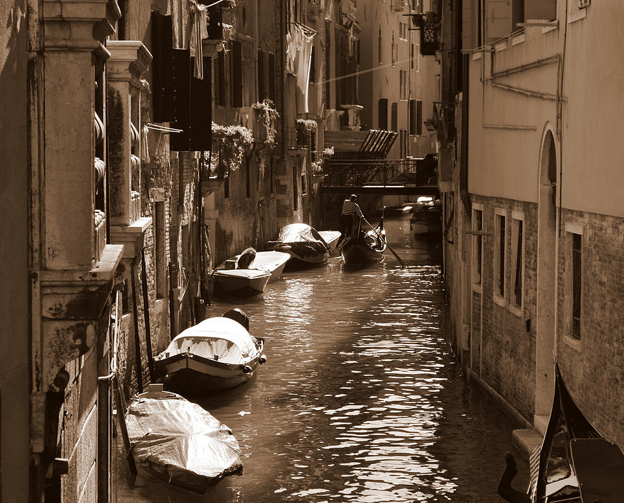 Venice Photograph - Venice by Barbara Walsh