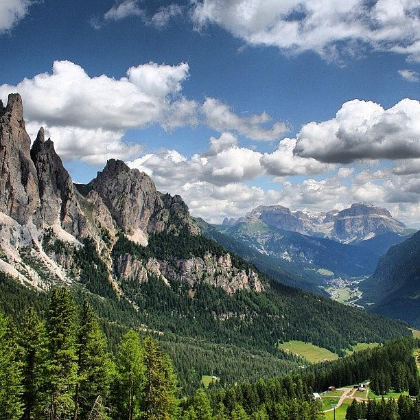 Mountains Photograph - Dolomites by Luisa Azzolini