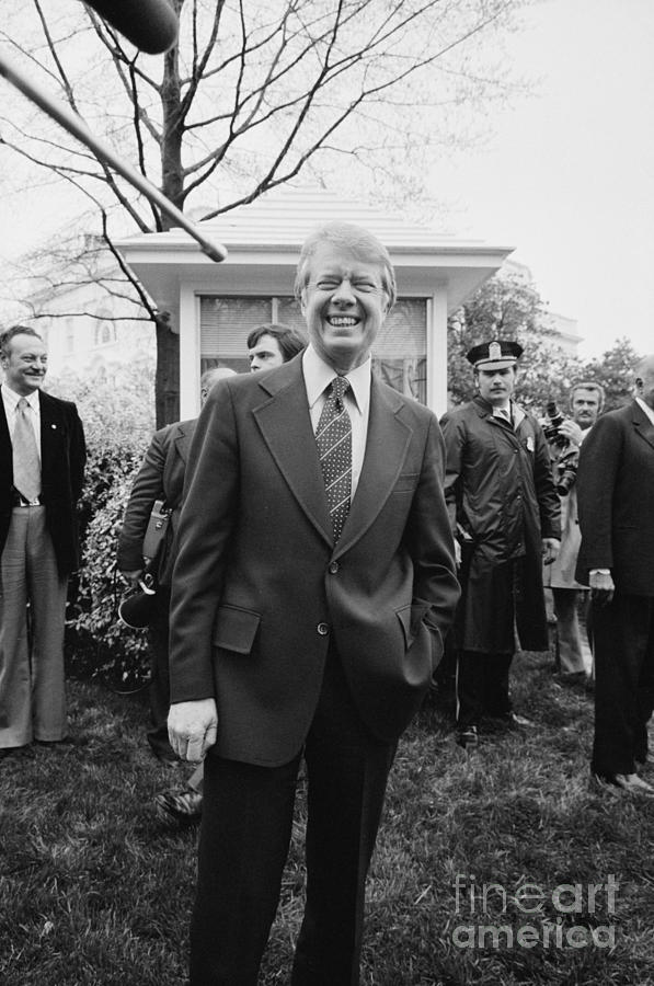 1977 Photograph - Jimmy Carter (1924- ) by Granger
