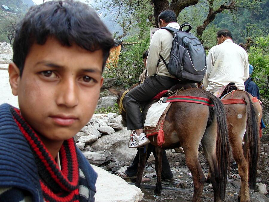 Splendors Of Himalayas---photography Portraits Photograph - Splendors Of Himalayas by Anand Swaroop Manchiraju