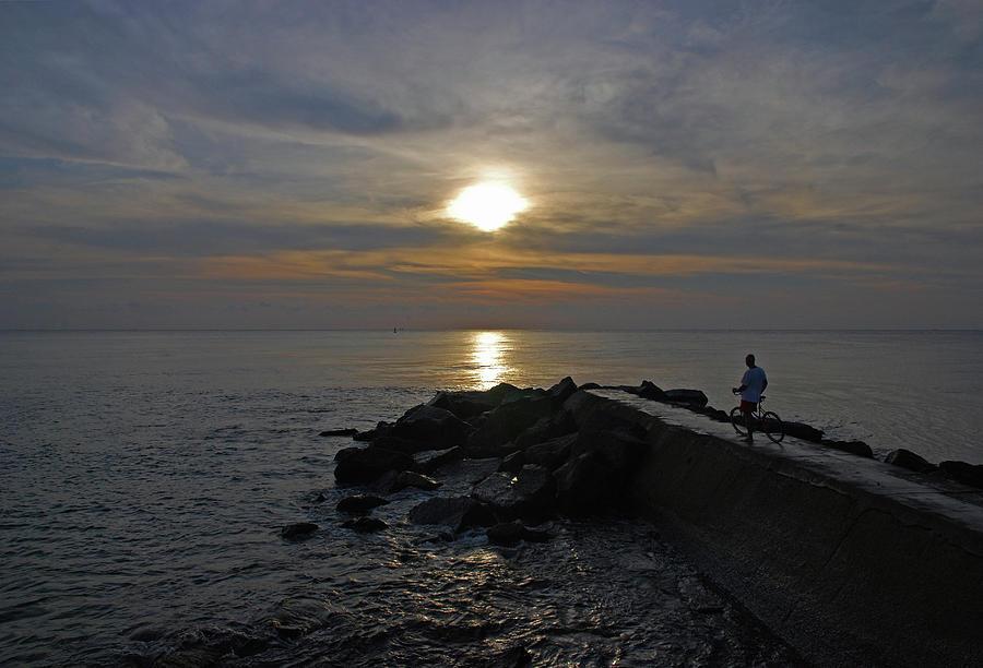 Beach Photograph - 13- The Witness by Joseph Keane