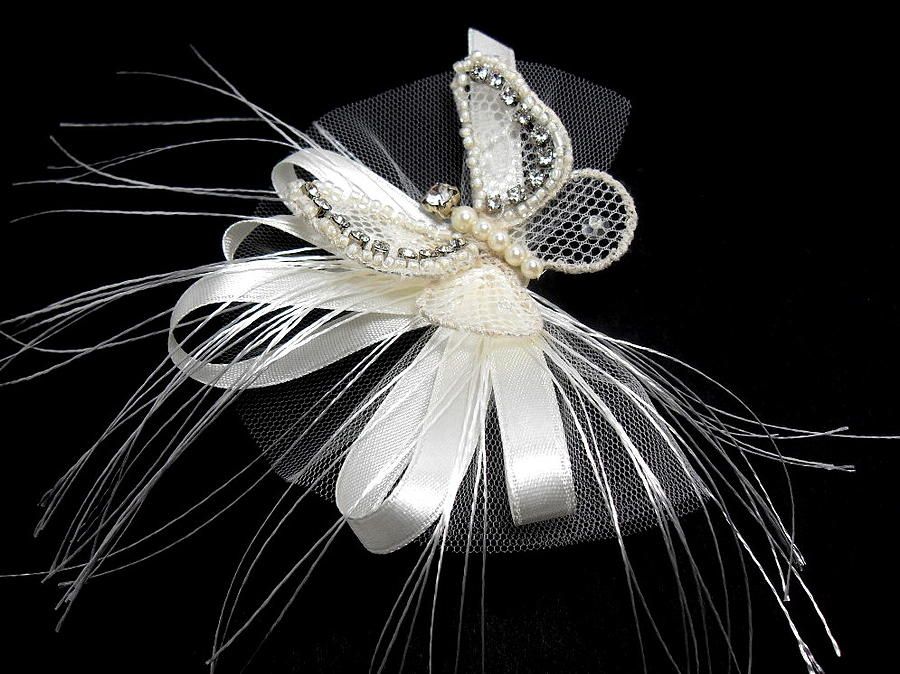 Handmade Jewelry - Wedding Hair Accessory by Gorean Olga