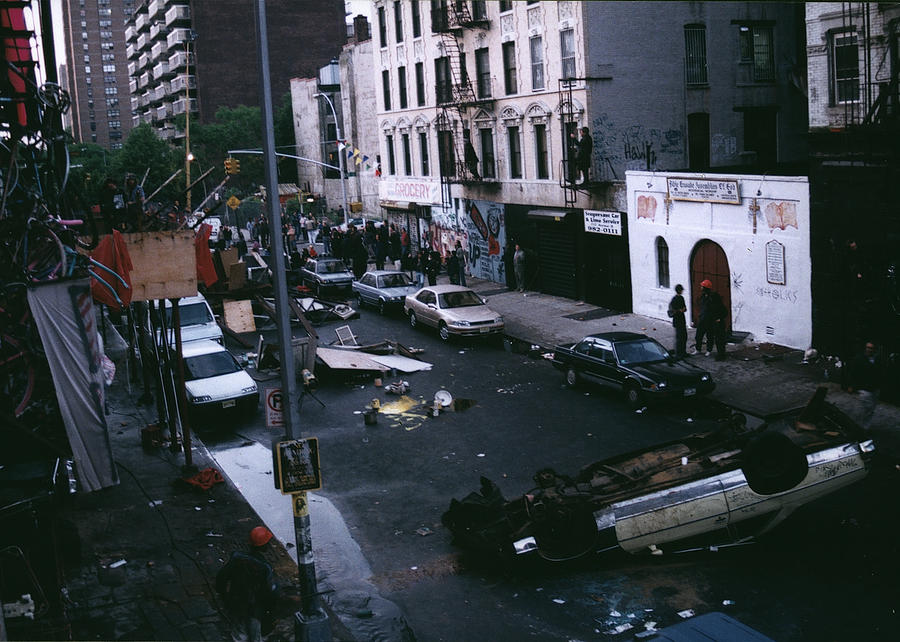 Lower East Side Photograph - 13th Street by Clayton Patterson