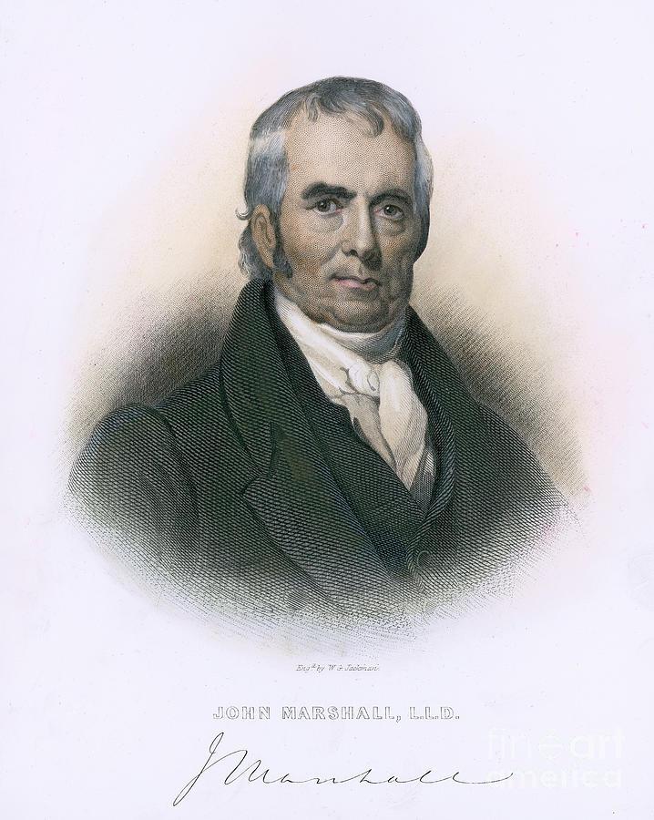18th Century Photograph - John Marshall (1755-1835) by Granger