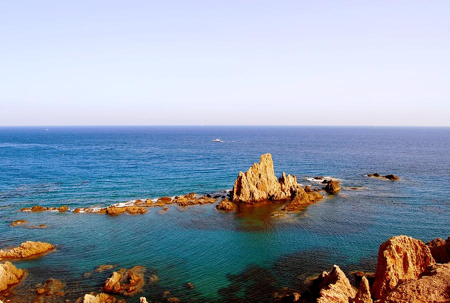 Cabo De Gata Photograph - Naturaleza Simple by Eire Cela