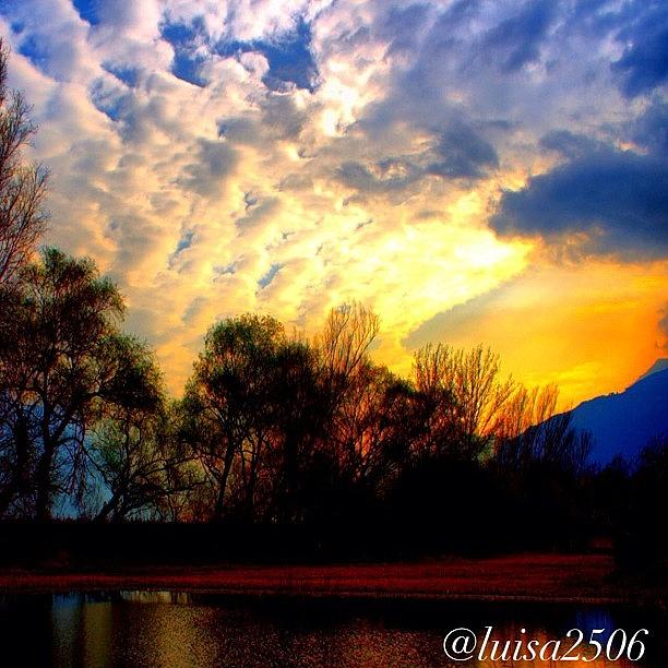 Outdoor Photograph - Sunset 14 by Luisa Azzolini