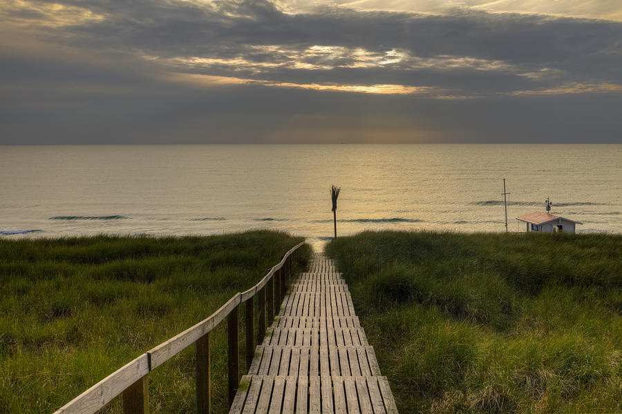 Boardwalk Photograph - Sylt by Joana Kruse