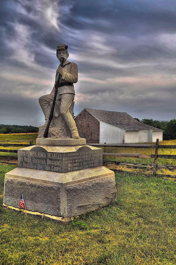 Pennsylvania Photograph - 149th Pennsylvania Infantry by Dave Sandt