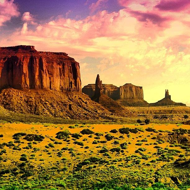 Outdoor Photograph - Monument Valley by Luisa Azzolini