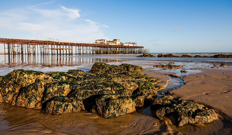 Beach Photograph - Hastings Pier by Dawn OConnor