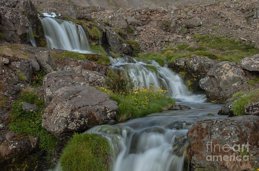Waterfall Photograph - Waterfall by Jorgen Norgaard