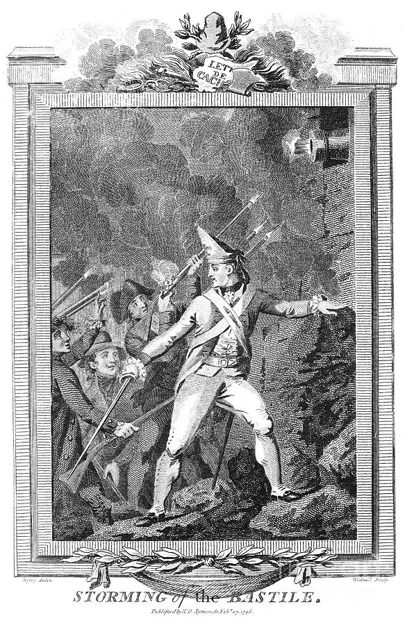 1789 Photograph - French Revolution, 1789 by Granger