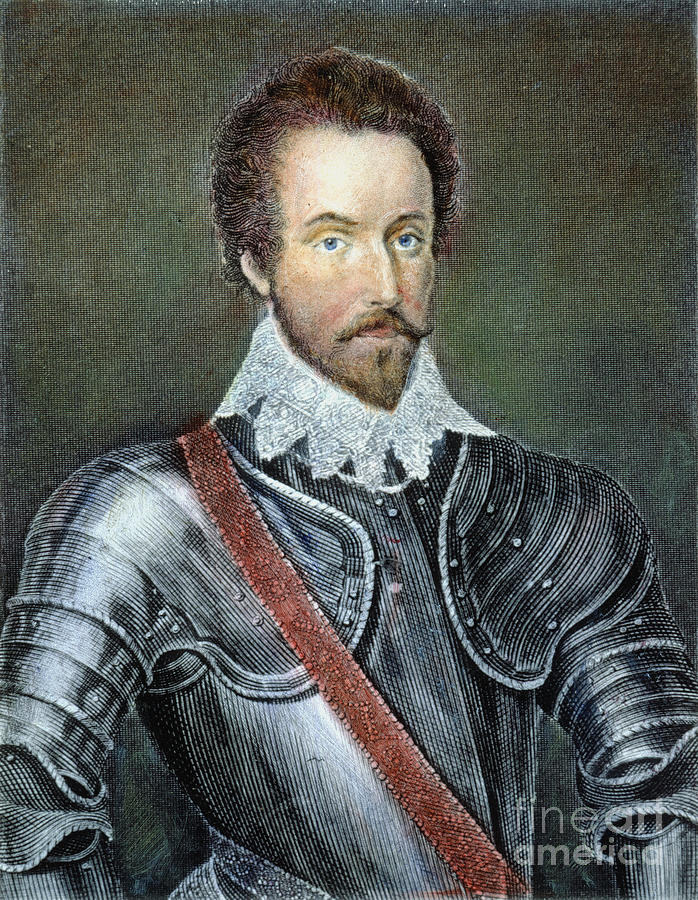 Sir Walter Raleigh Photograph By Granger