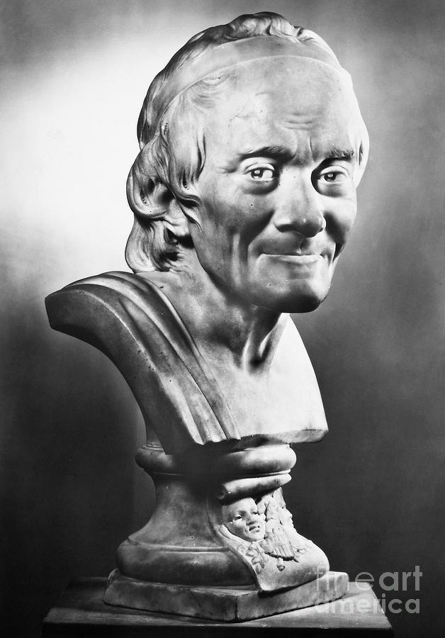 18th Century Photograph - Voltaire (1694-1778) by Granger