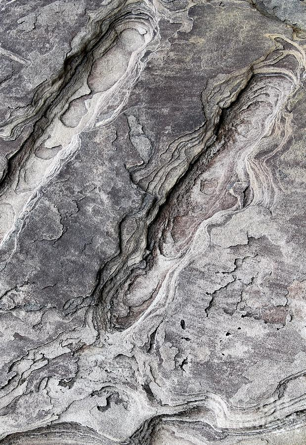 Nature Photograph - Natures Rock Art by Jack R Brock