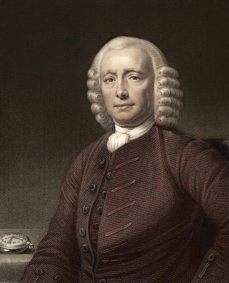 Captain Cook Photograph - 1767 John Harrison & Marine Timekeeper H4 by Paul D Stewart