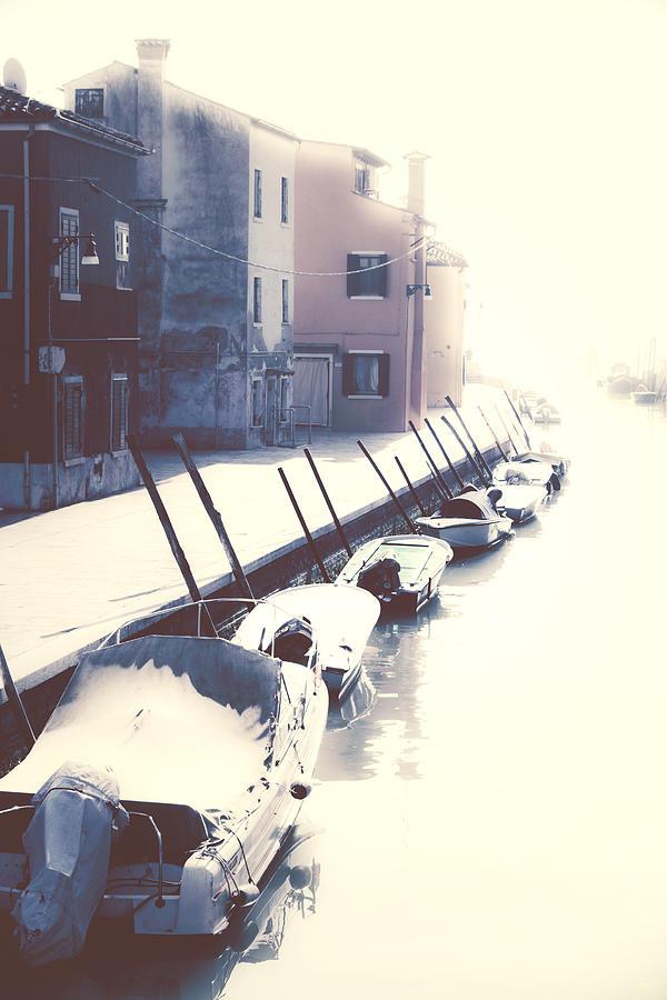 Boats Photograph - Burano by Joana Kruse